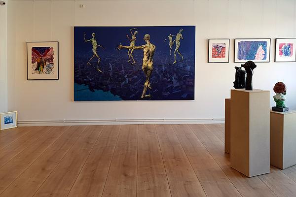 Große Künstler Des Nordens In Der Galerie Richter, Armin Mueller Stahl,  Feridun Zaimoglu